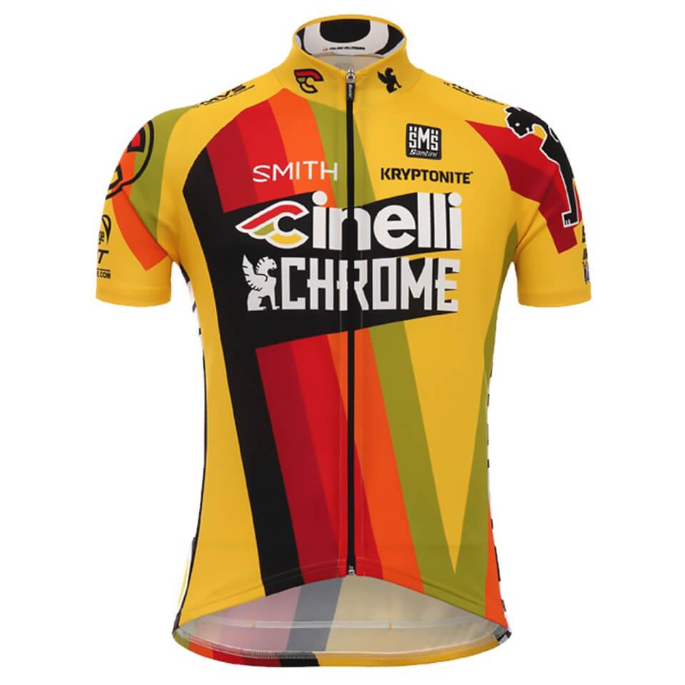 santini-cinelli-chrome-17-jersey-yellowblack-m-yellowblack
