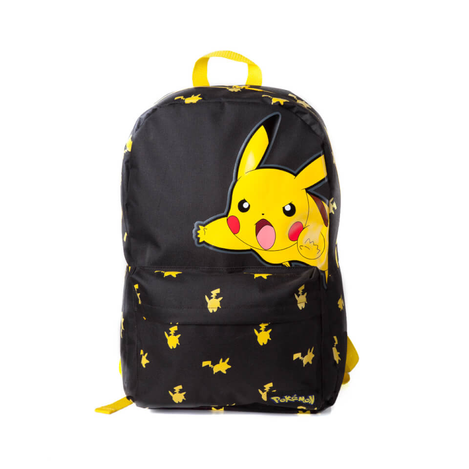 Pokemon Big Pikachu Backpack