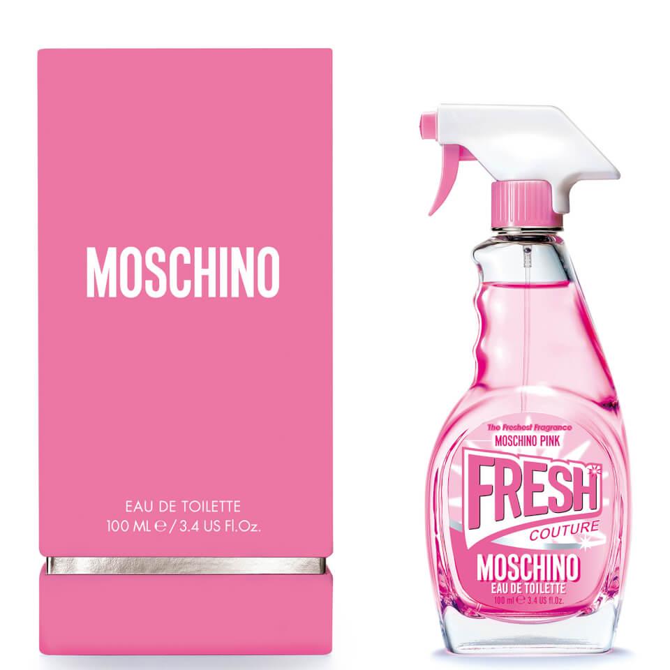 Moschino Pink Fresh Couture Eau de Toilette Spray 100 ml