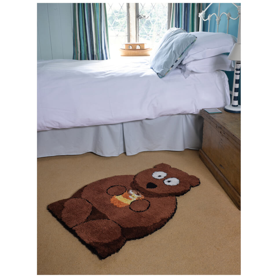 flair-plush-animals-rug-bertie-bear-brown-60x90