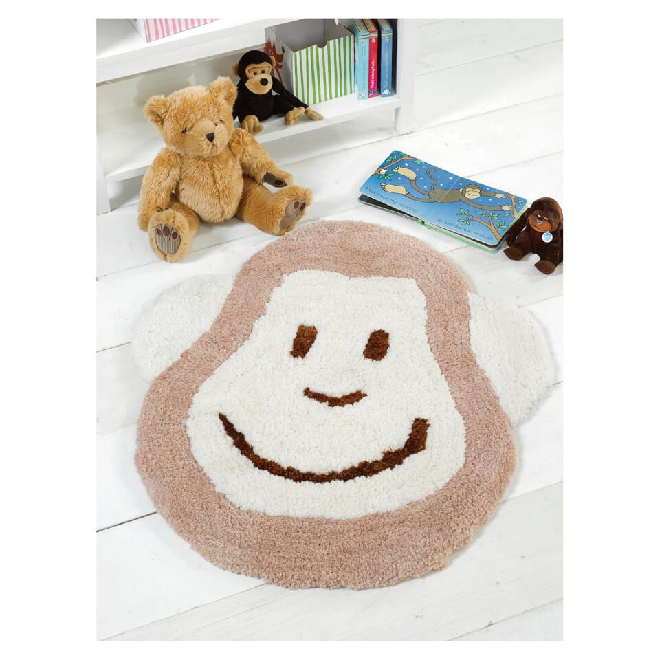 flair-nursery-cheeky-monkey-rug-natural-75x80