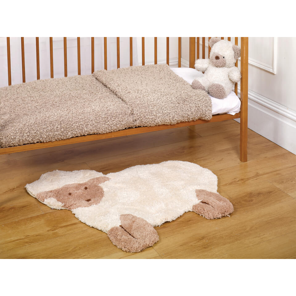 Flair Nursery Little Lamb Rug - Natural (75X80)