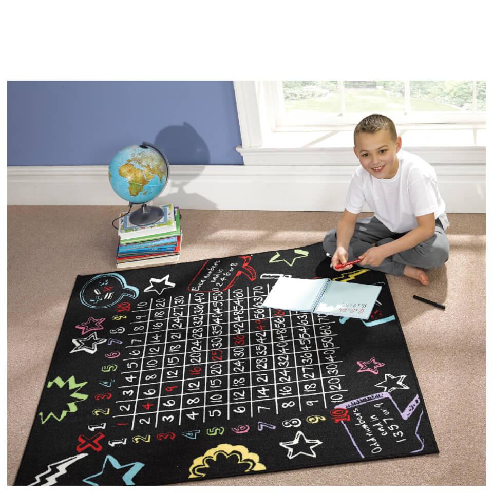 flair-matrix-kiddy-rug-multiplication-black-133x133