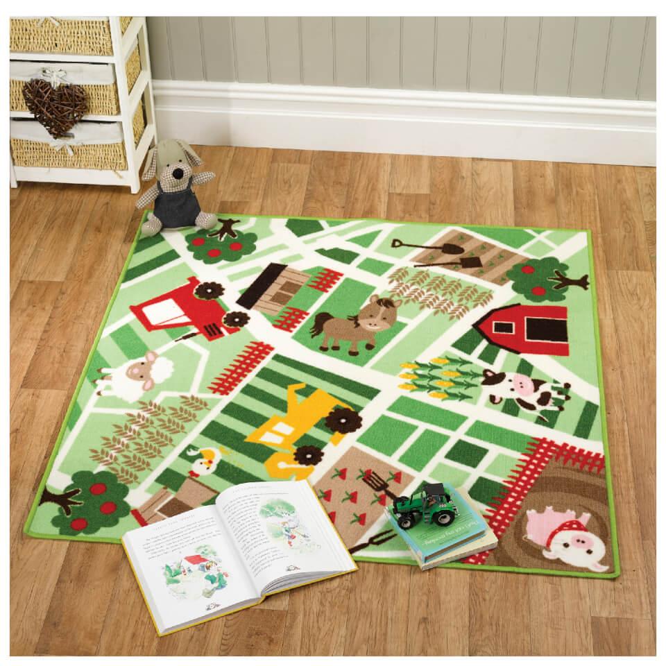 flair-matrix-kiddy-rug-farmyard-multi-133x133