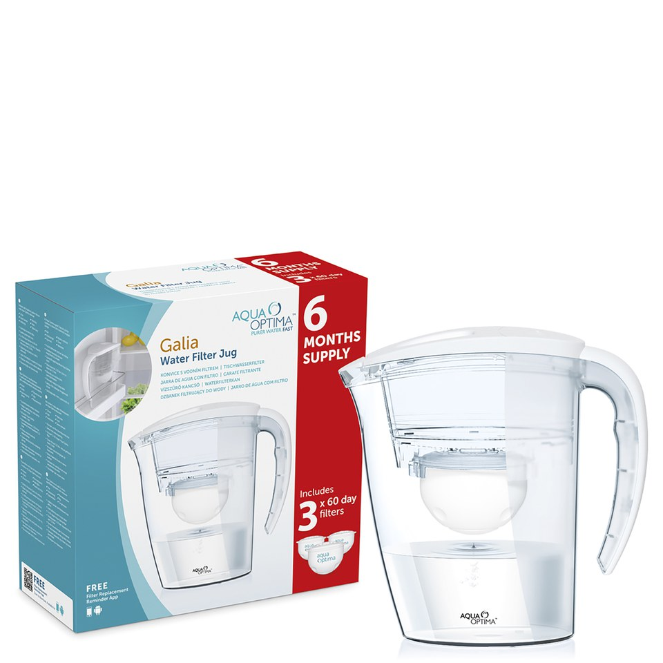 aqua-optima-galia-6-month-bundle-jug-plus-3-cartridges-225l-white