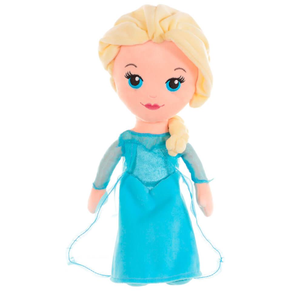 Disney Frozen Cute Elsa Plush Doll Large Toys Thehut Com