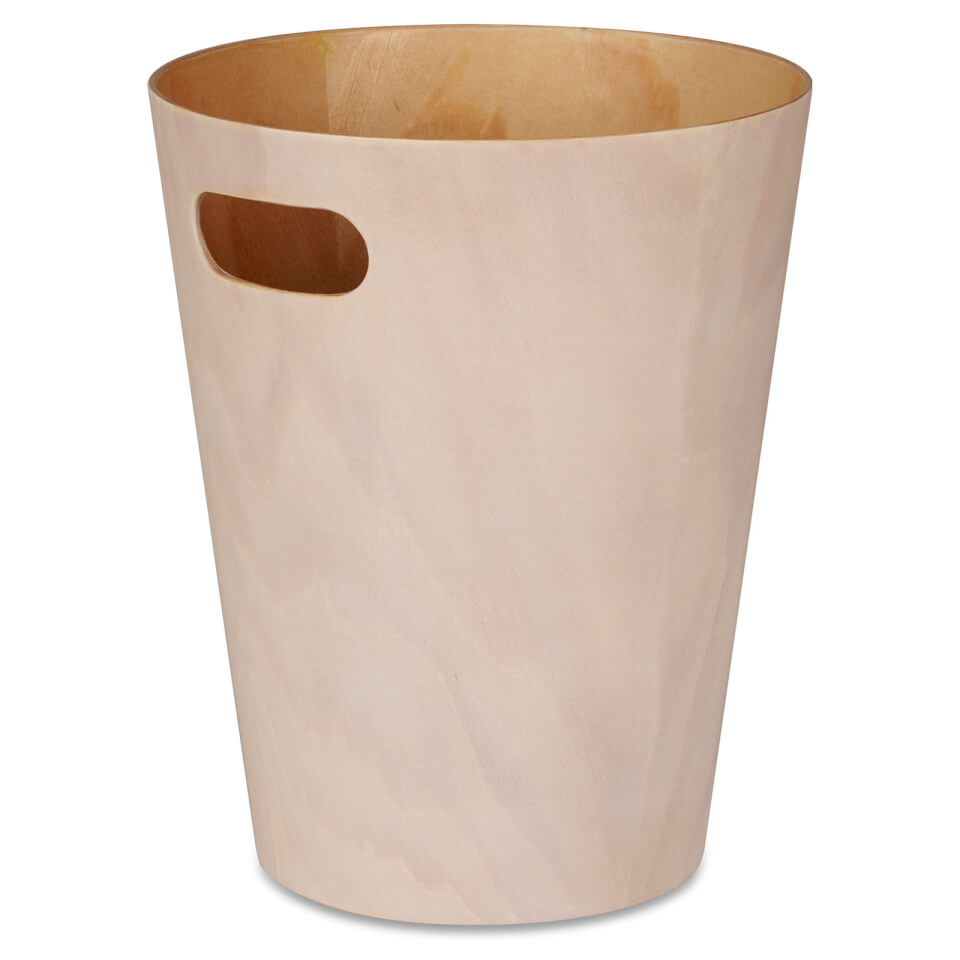 umbra-woodrow-waste-can-white