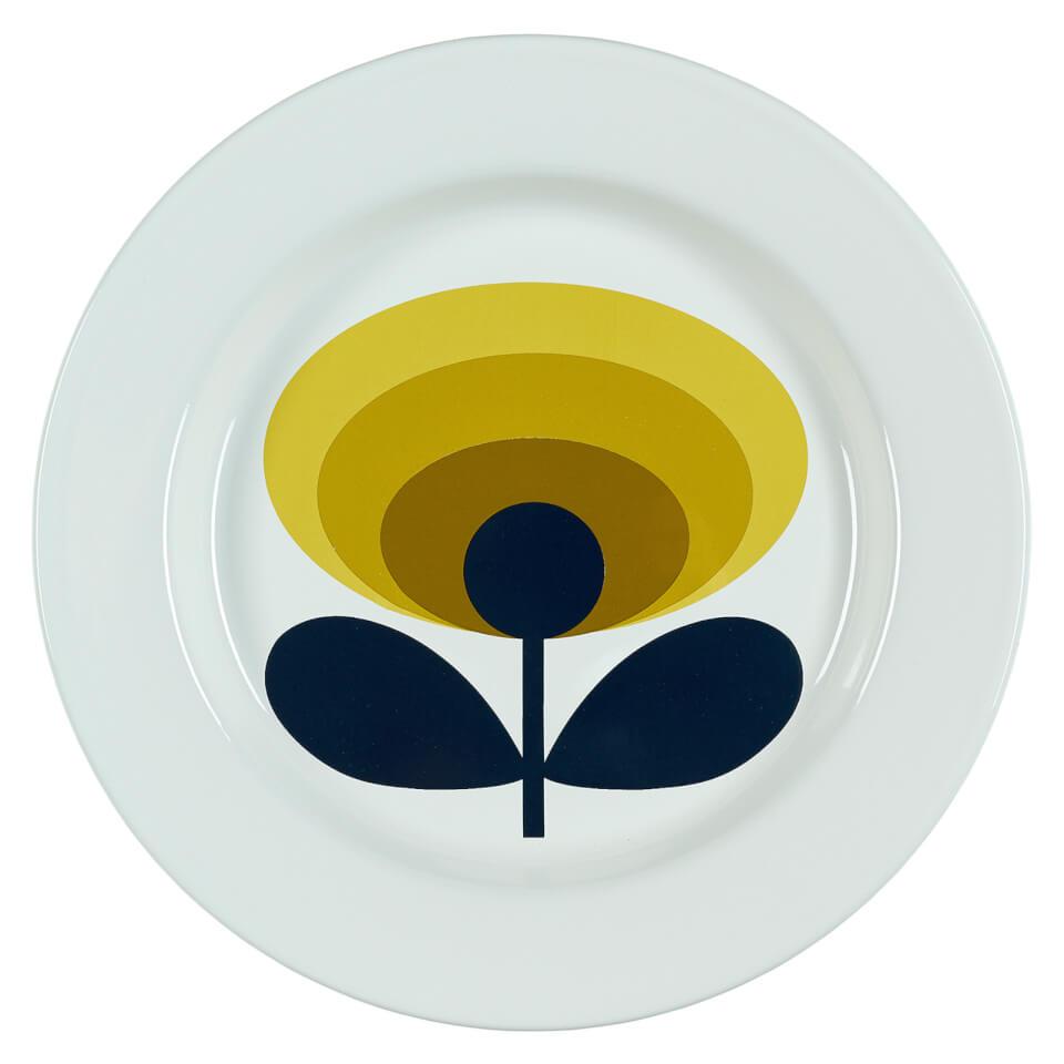 orla-kiely-enamel-plate-70-flower-dandelion