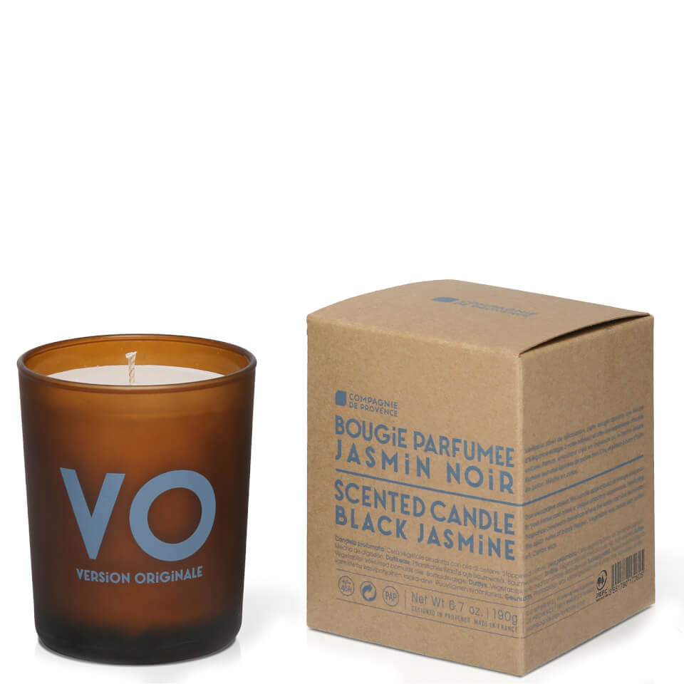 Compagnie de Provence Geurkaars 190 g Black Jasmine