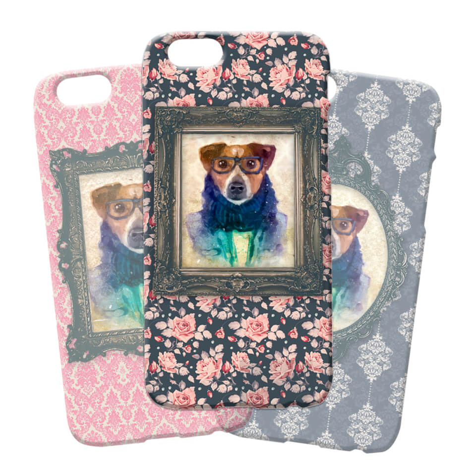 dog-phonecase-samsung-galaxy-s7-floral