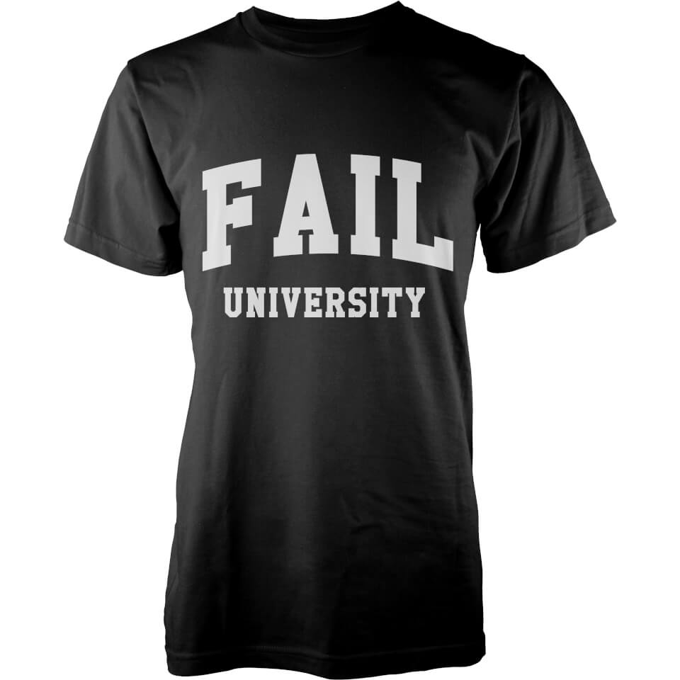 fail-university-t-shirt-black-s