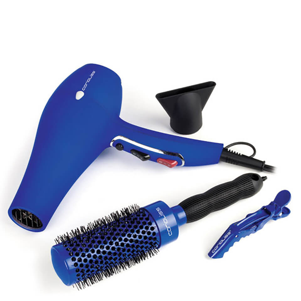 Corioliss Hair Dryer Flow Blue Kit 11422913