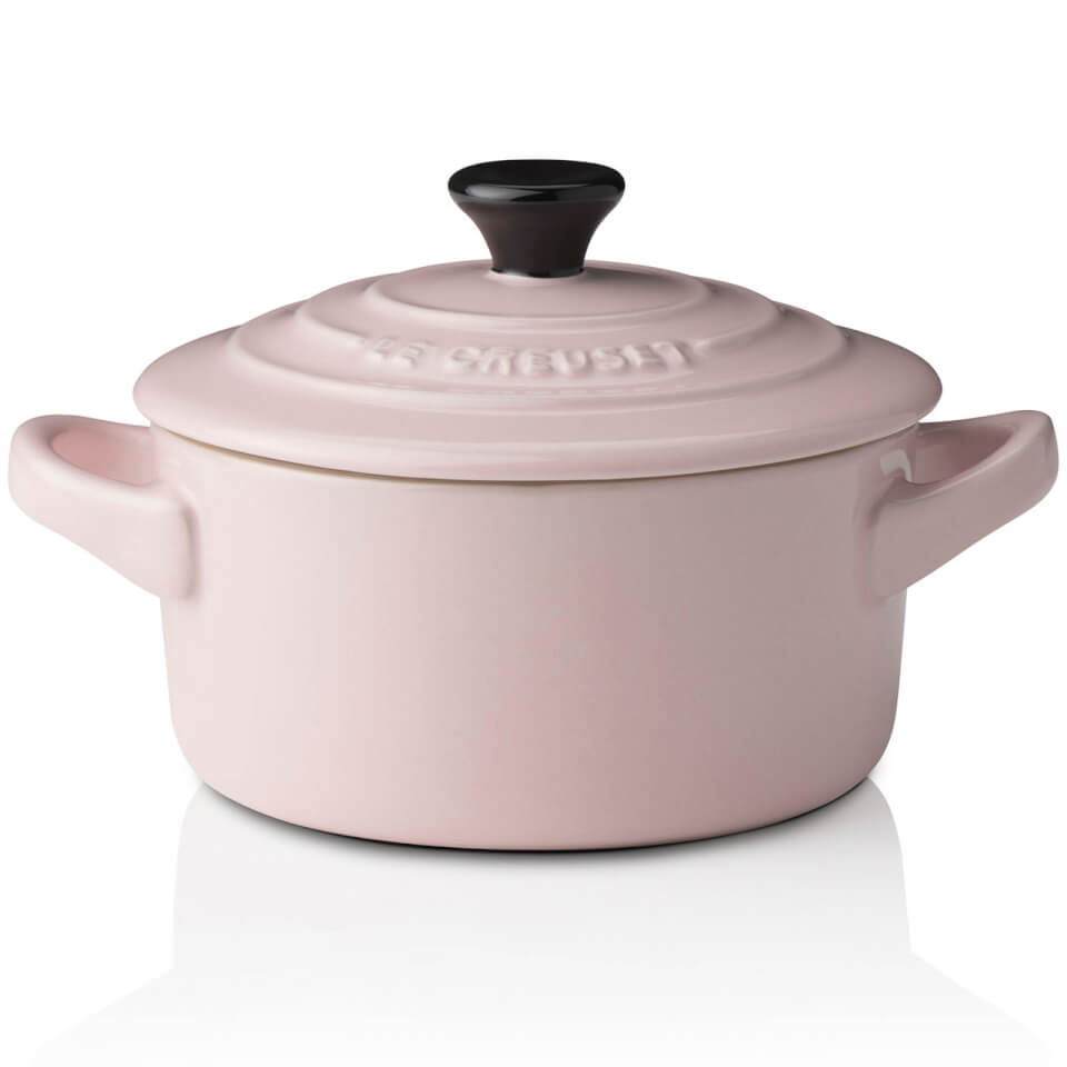 le creuset stoneware petite casserole dish chiffon pink homeware. Black Bedroom Furniture Sets. Home Design Ideas