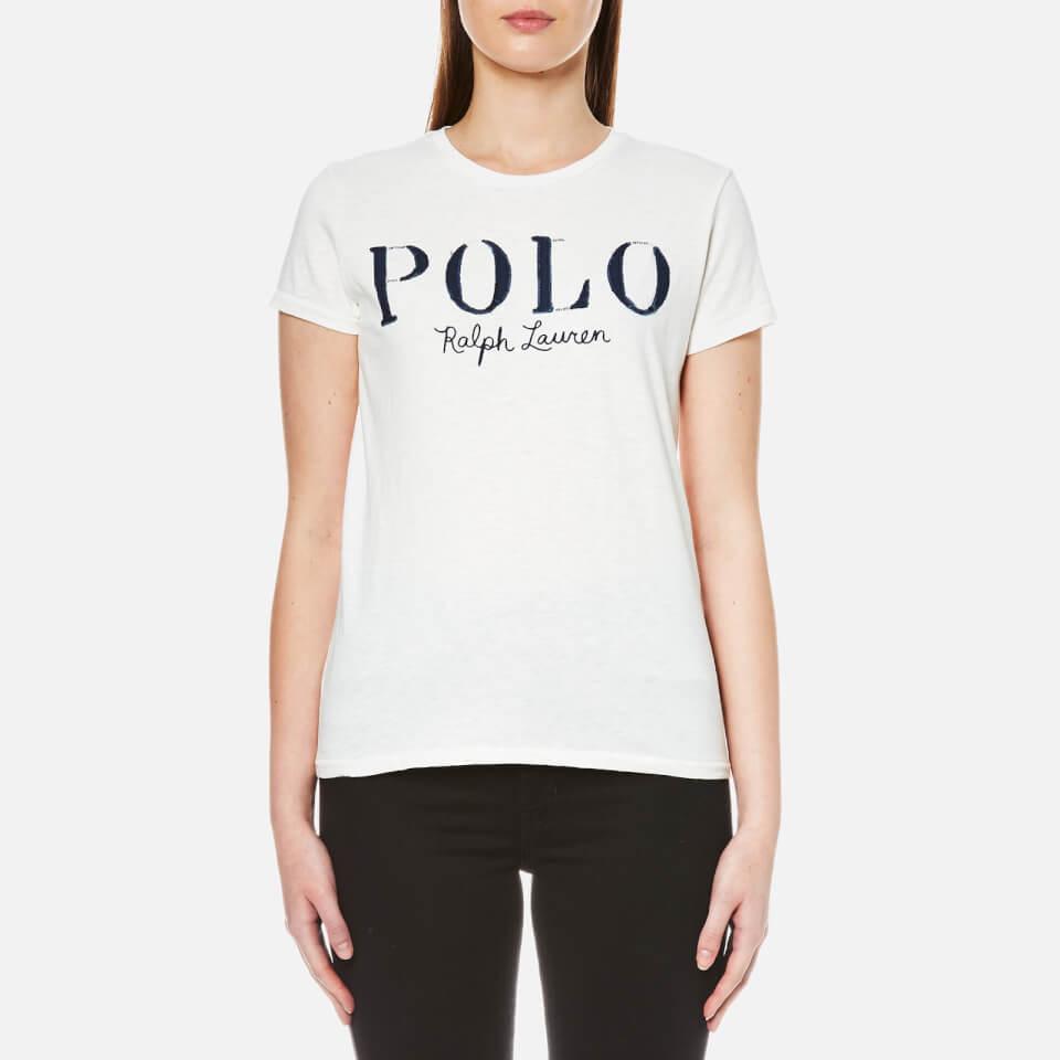 Ralph Lauren Womens Polo Logo T-shirt Nevis S