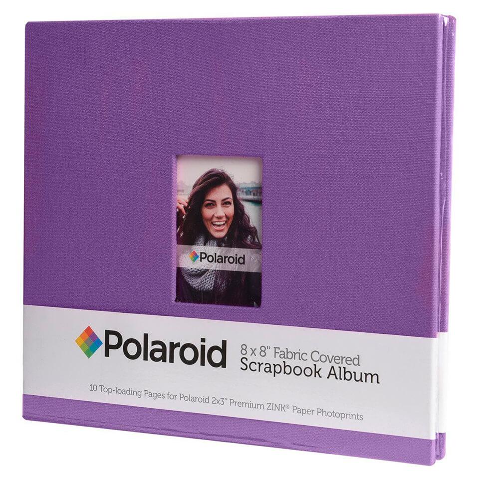 polaroid-8x8-inch-fabric-covered-scrapbook-album