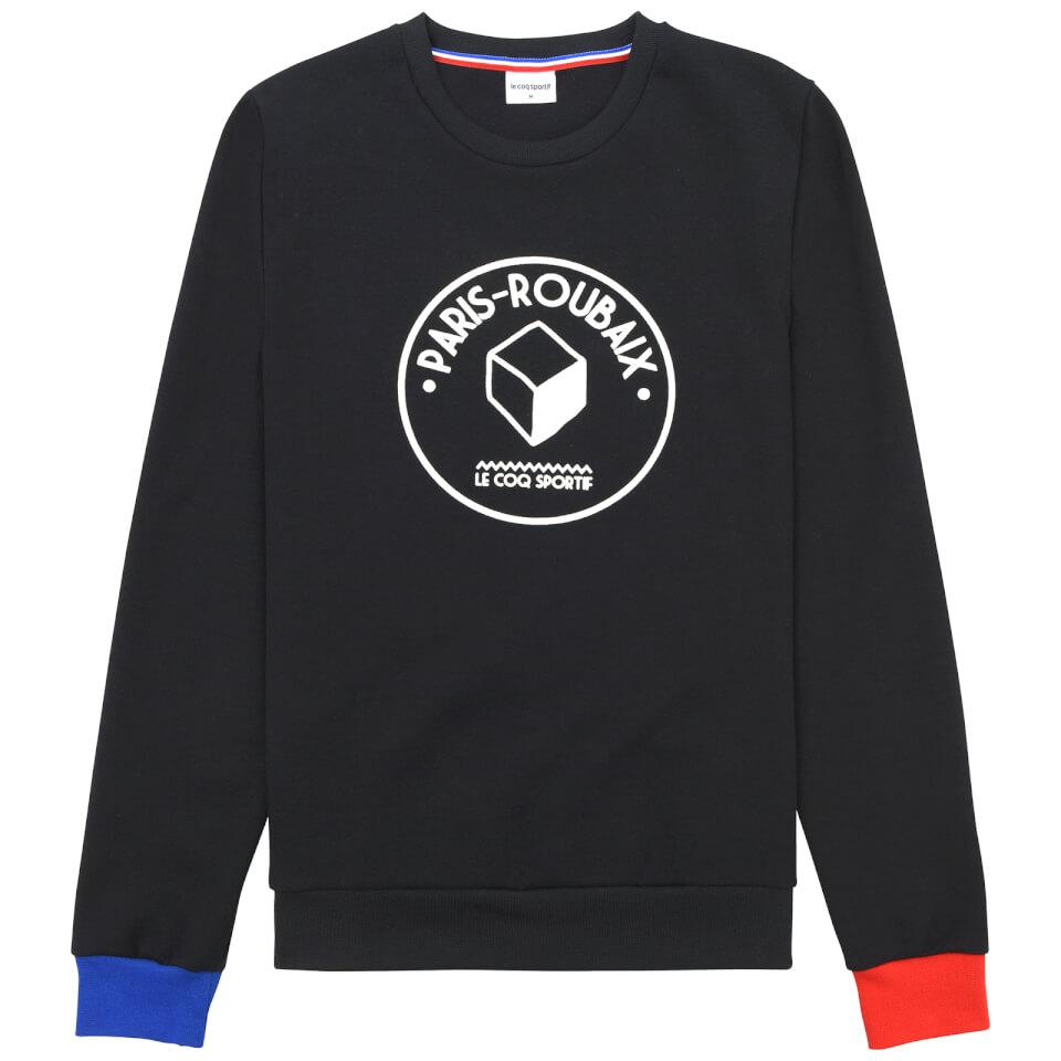 le-coq-sportif-paris-roubaix-crew-sweatshirt-blue-red-s