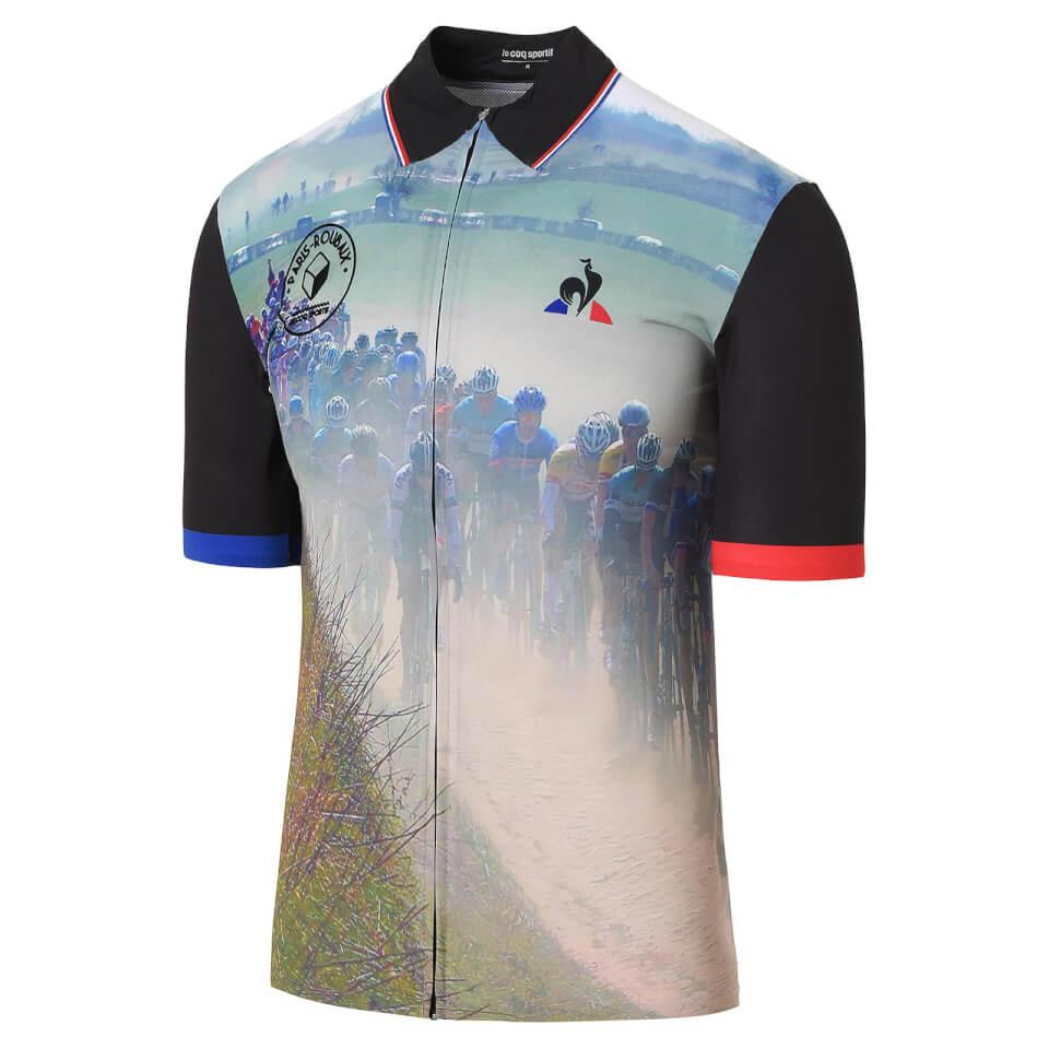 le-coq-sportif-paris-roubaix-jersey-multi-s
