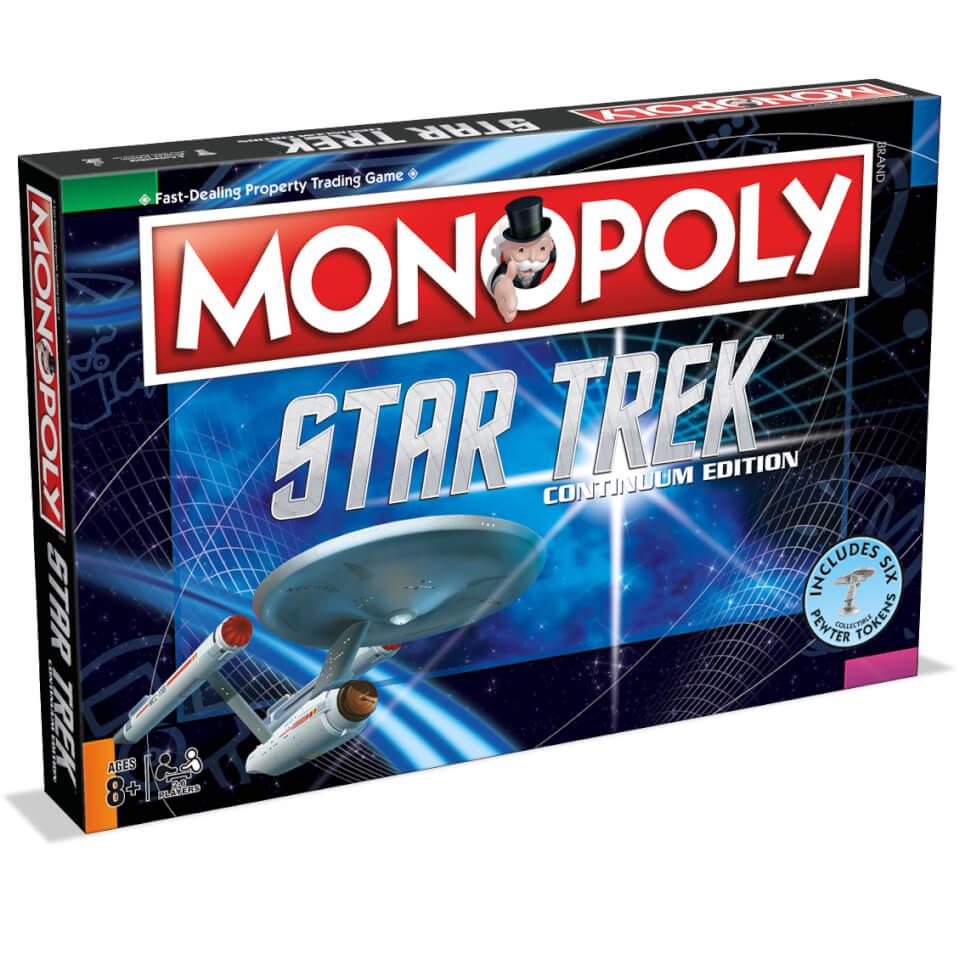 Monopoly Star Trek Continuum Edition Exclusive Toys Zavvi