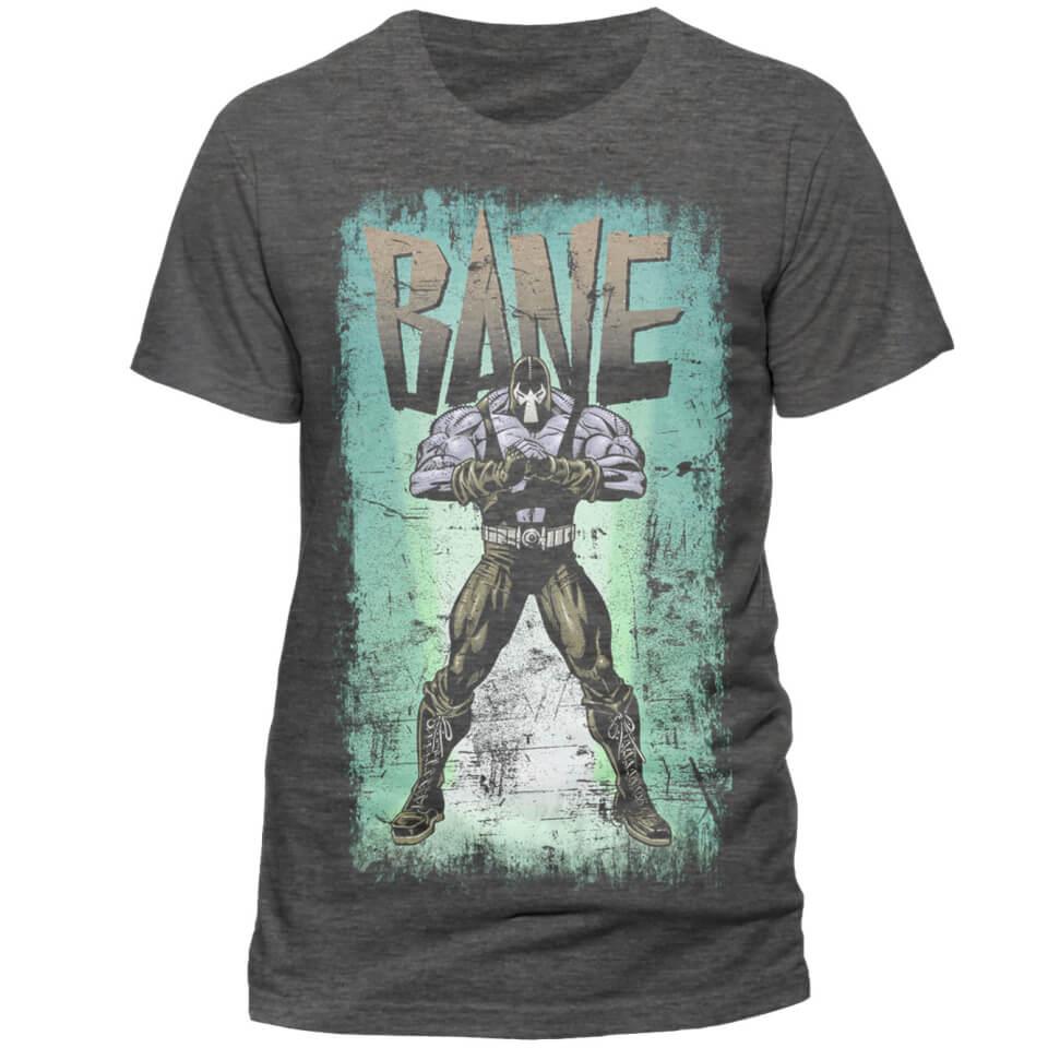 DC Comics Men's Batman Retro Bane T Shirt Grey XL