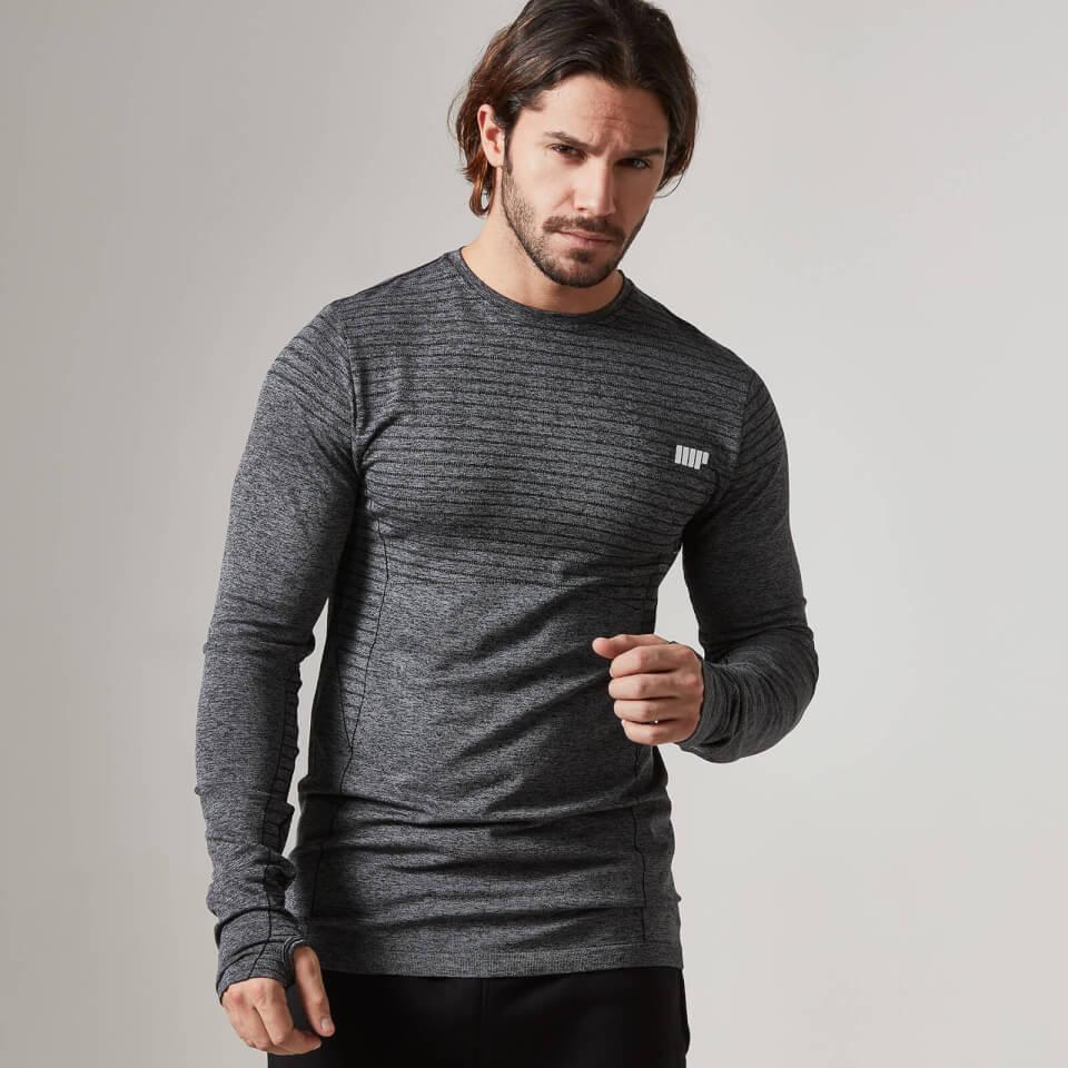 Myprotein Carve Seamless Long Sleeve T-Shirt | Jerseys