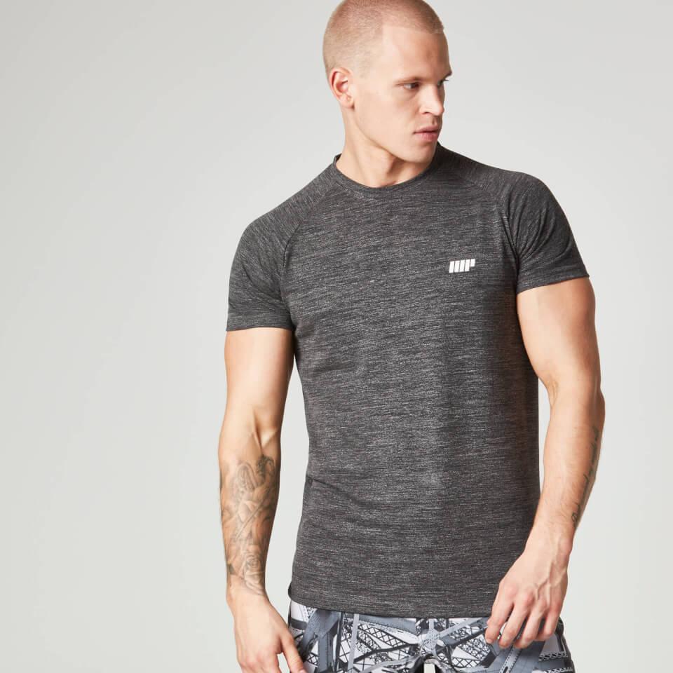 Foto Myprotein Men's Performance Short Sleeve Top - Grey Marl - S Camicie e top