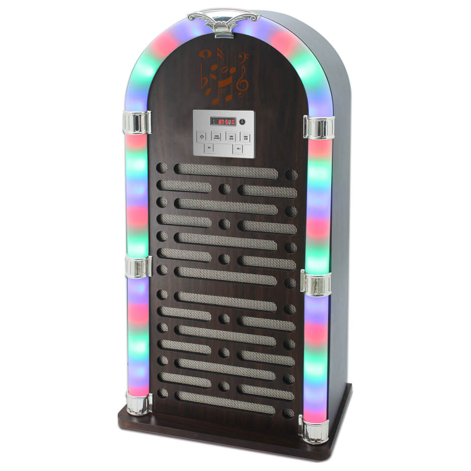 i-tek-multi-functional-bluetooth-jukebox-with-fm-radio-led-display-brown
