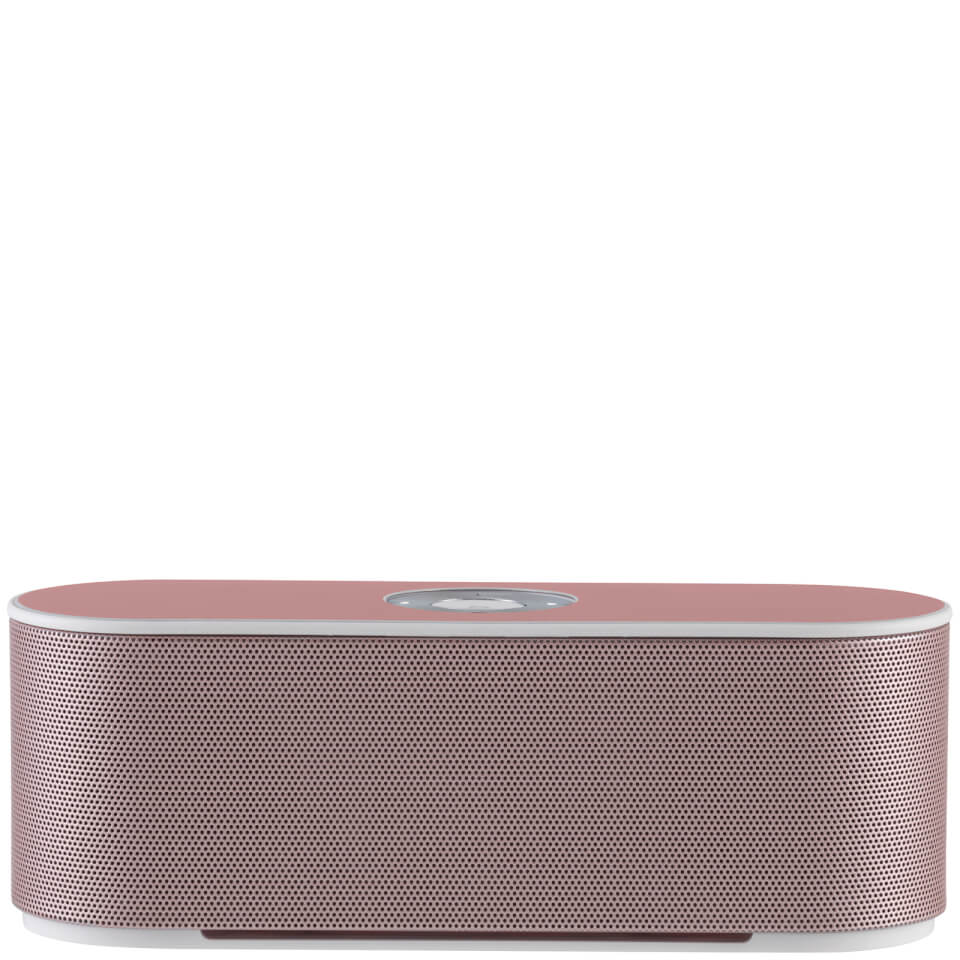 Akai DYNMX Bluetooth Speaker with Built In Microphone Rose Gold