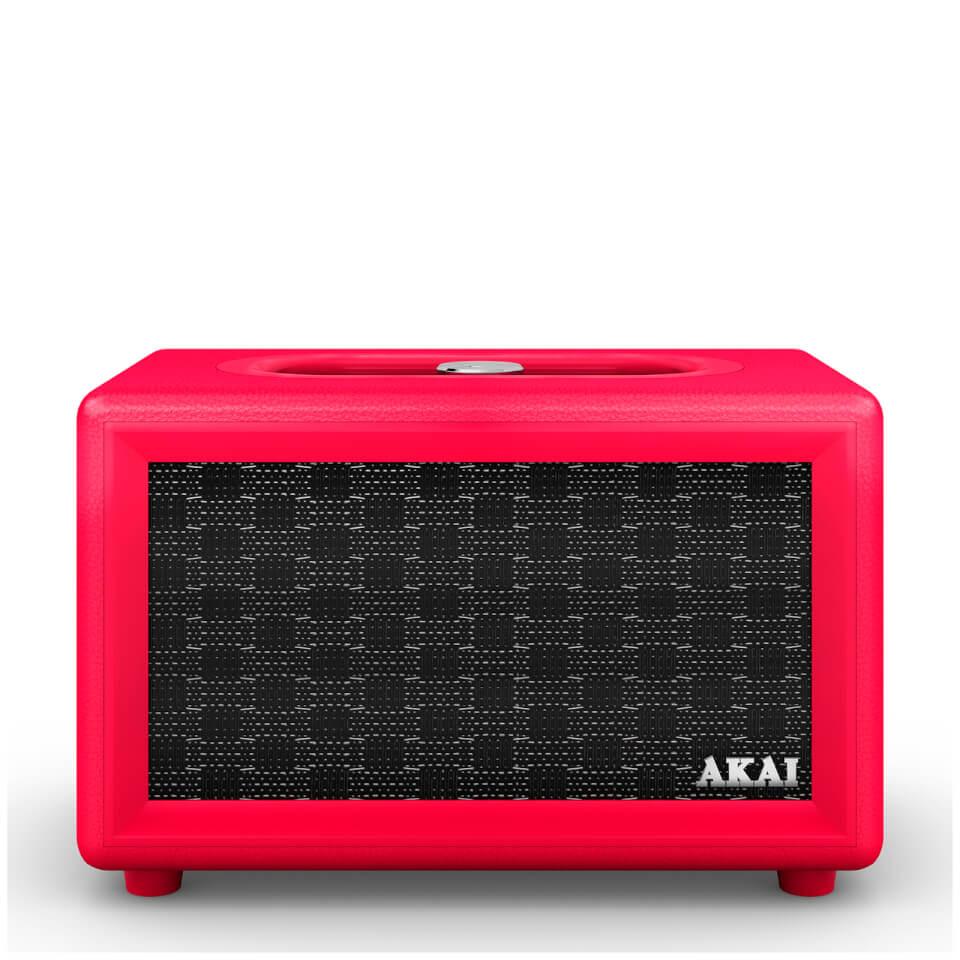 Altavoz Bluetooth Akai Retro - Rojo