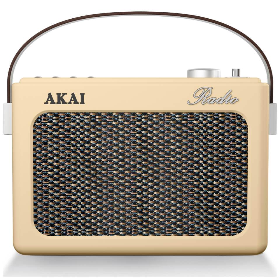 akai-retro-vintage-portable-wireless-amfm-radio-with-lcd-screen-cream