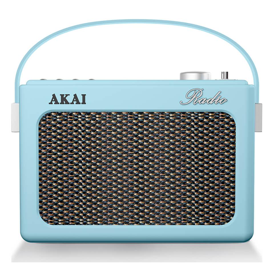 akai-retro-vintage-portable-wireless-dab-radio-with-lcd-screen-blue