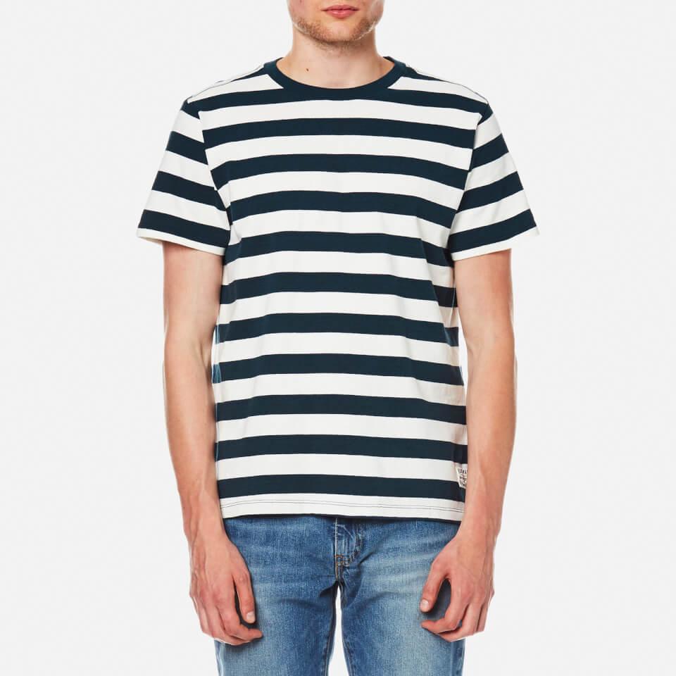 Levis Mens Mighty T-shirt Bass Stripe Marshmallow S