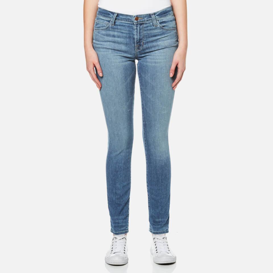 J Brand Womens 811 Mid Rise Skinny Jeans Adventure W27/l32