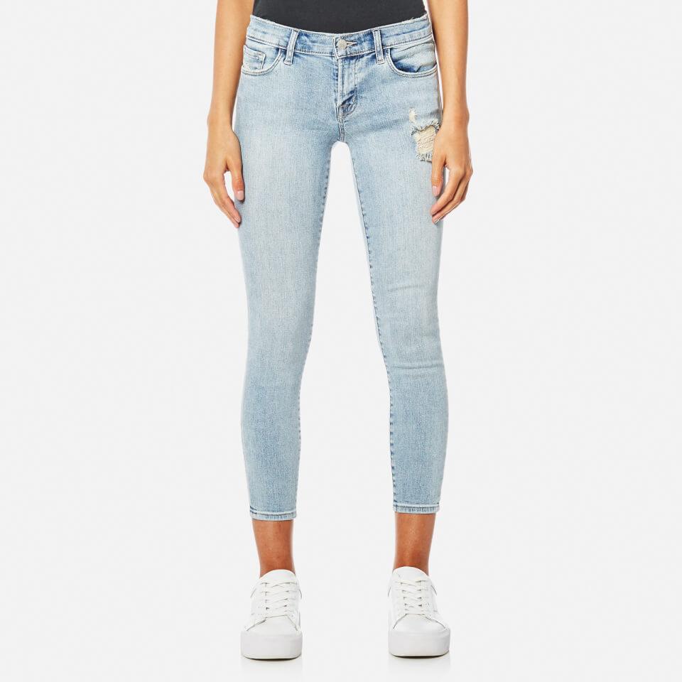 J Brand Womens 9326 Low Rise Crop Skinny Jeans Remnant W28/l32