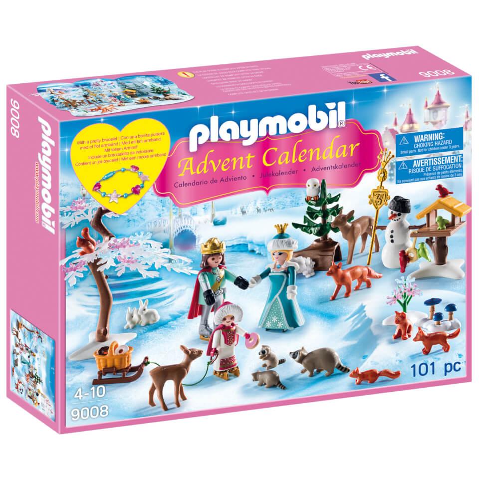 PLAYMOBIL Calendario de Navidad: Patinaje sobre hielo (9008)