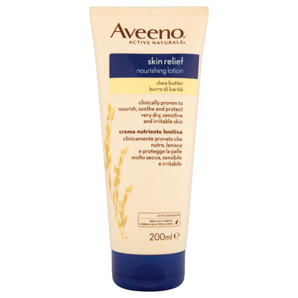 Aveeno Skin Relief Body Lotion with Shea Butter 200ml