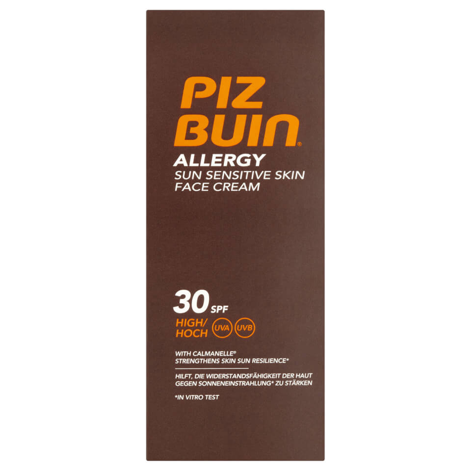 Piz Buin Allergy Face Cream SPF30 Zonnecrème 50.0 ml