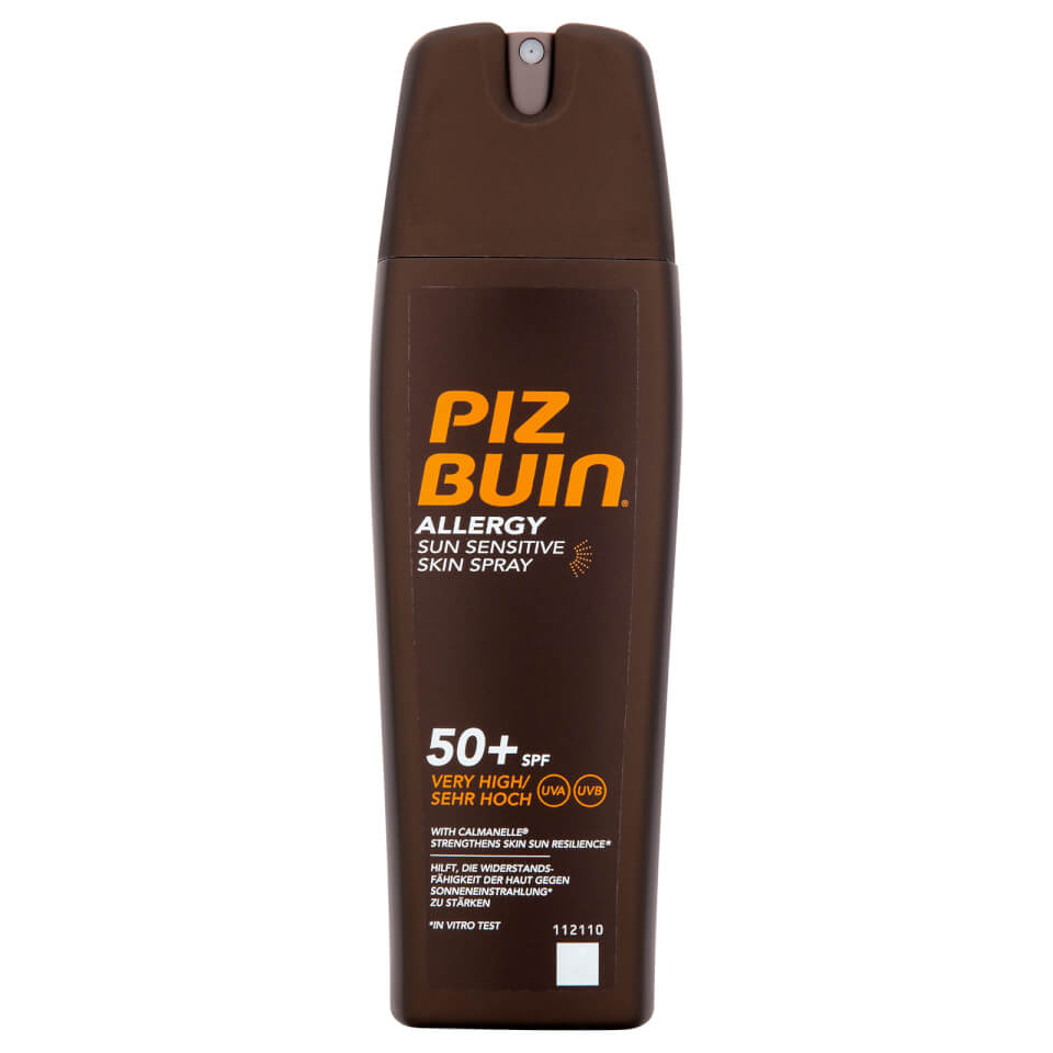 Piz Buin Allergy Sun Sensitive Skin Spray Very High SPF50+ 200ml