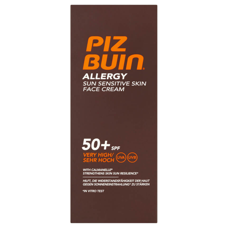 Piz Buin Allergy Face Creme Factor(spf)50 40ml