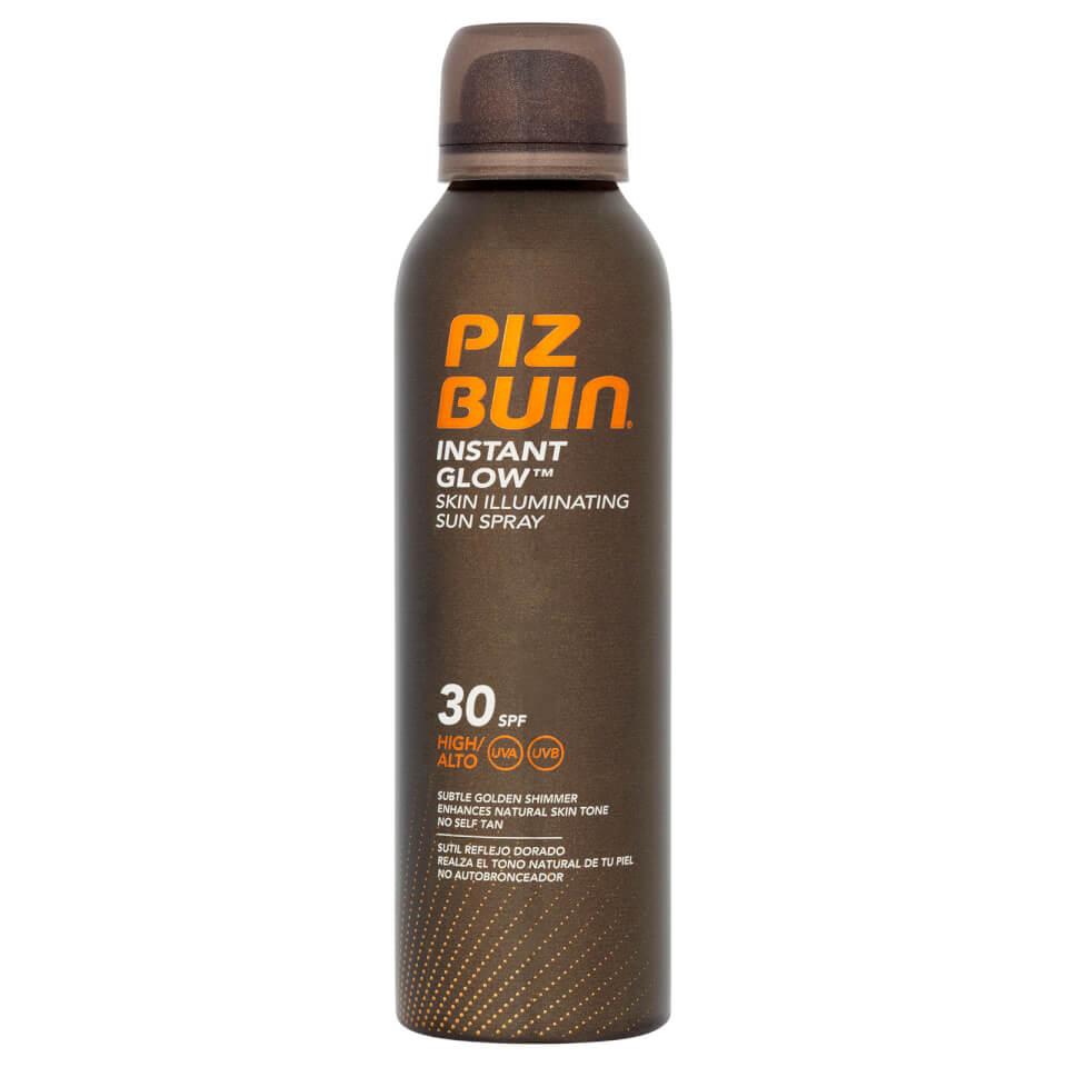 Piz Buin Instant Glow Skin Illuminating Sun Spray SPF30 150ml