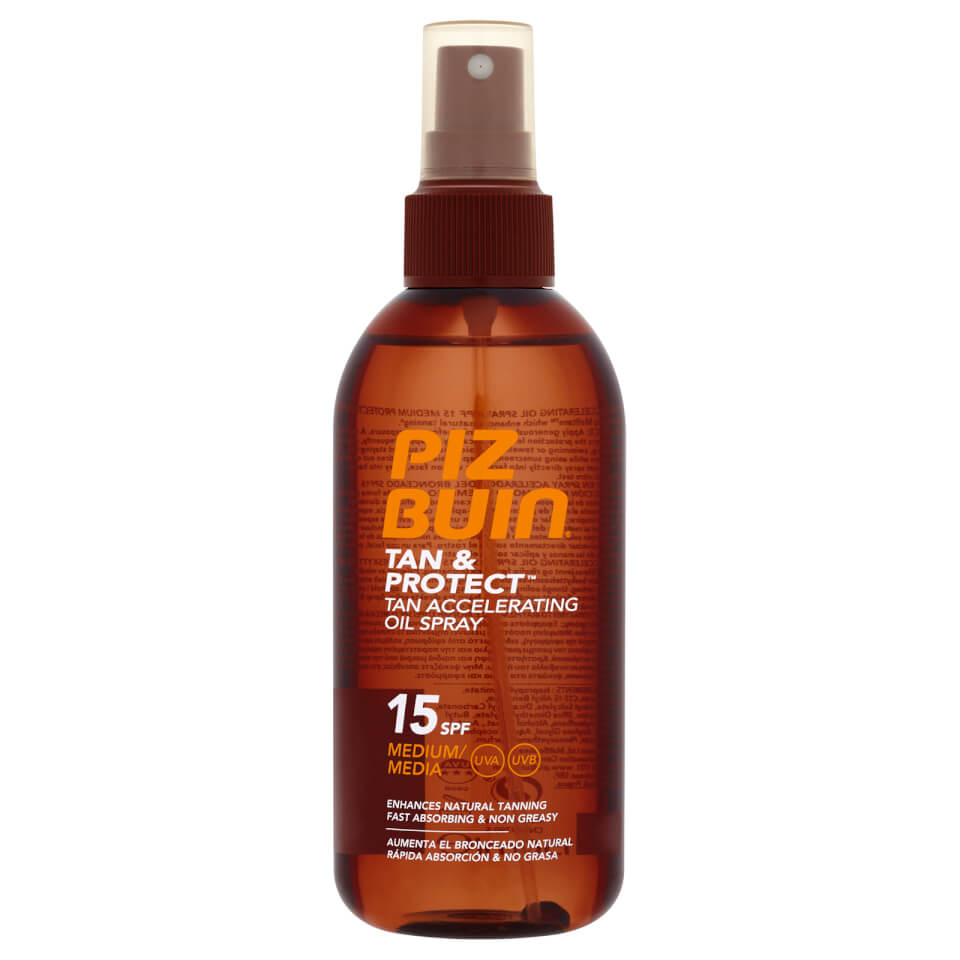 Piz Buin Tan & Protect Tan Intensifying Sun Spray Medium SPF15 150ml