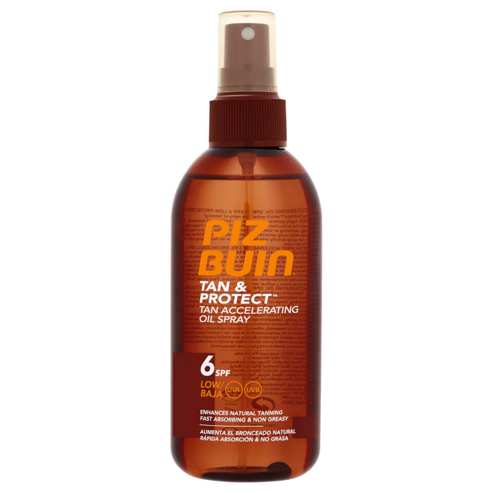 Piz Buin Tan & Protect Tan Intensifying Sun Spray Low SPF6 150ml