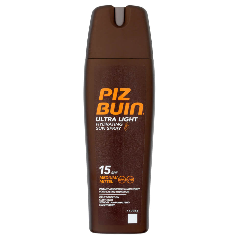 Piz Buin In Sun Spray Factor(spf)15 200ml