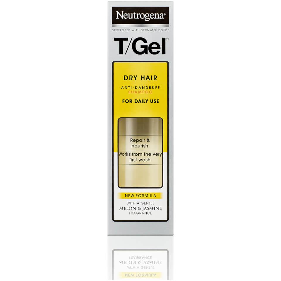 T/Gel® Anti-Dandruff Shampoo for Dry Hair 125ml | Neutrogena®