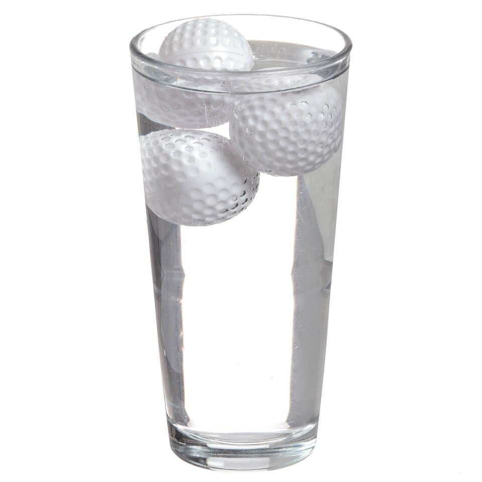 Cubitos de Hielo Pelotas de Golf  19º Agujero  - Blanco