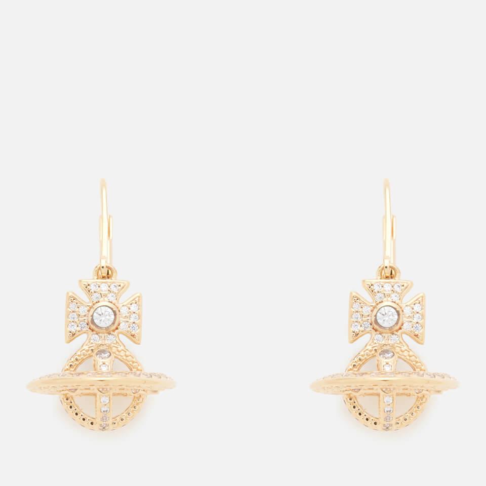 7e61390a8 Vivienne Westwood Women's Isabella Orb Earrings - White Cubic Zirconia