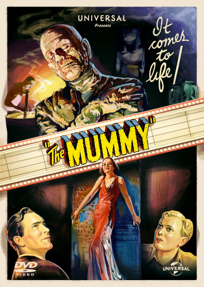 The Mummy 1932 Bonus Disc Dvd Zavvi