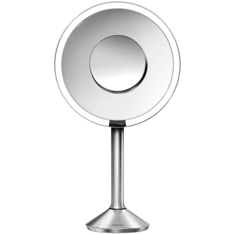 simplehuman-stainless-steel-rechargeable-pro-5x-plus-10x-magnification-sensor-mirror-20cm