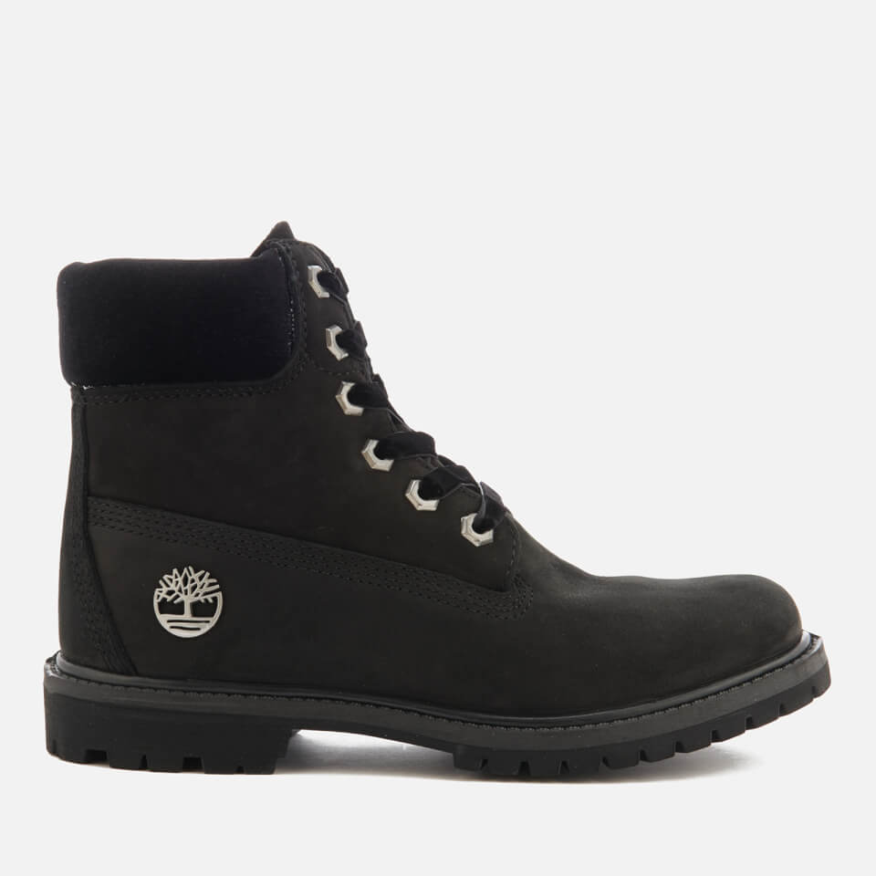Timberland Women S 6 Inch Water Resistant Boots Black