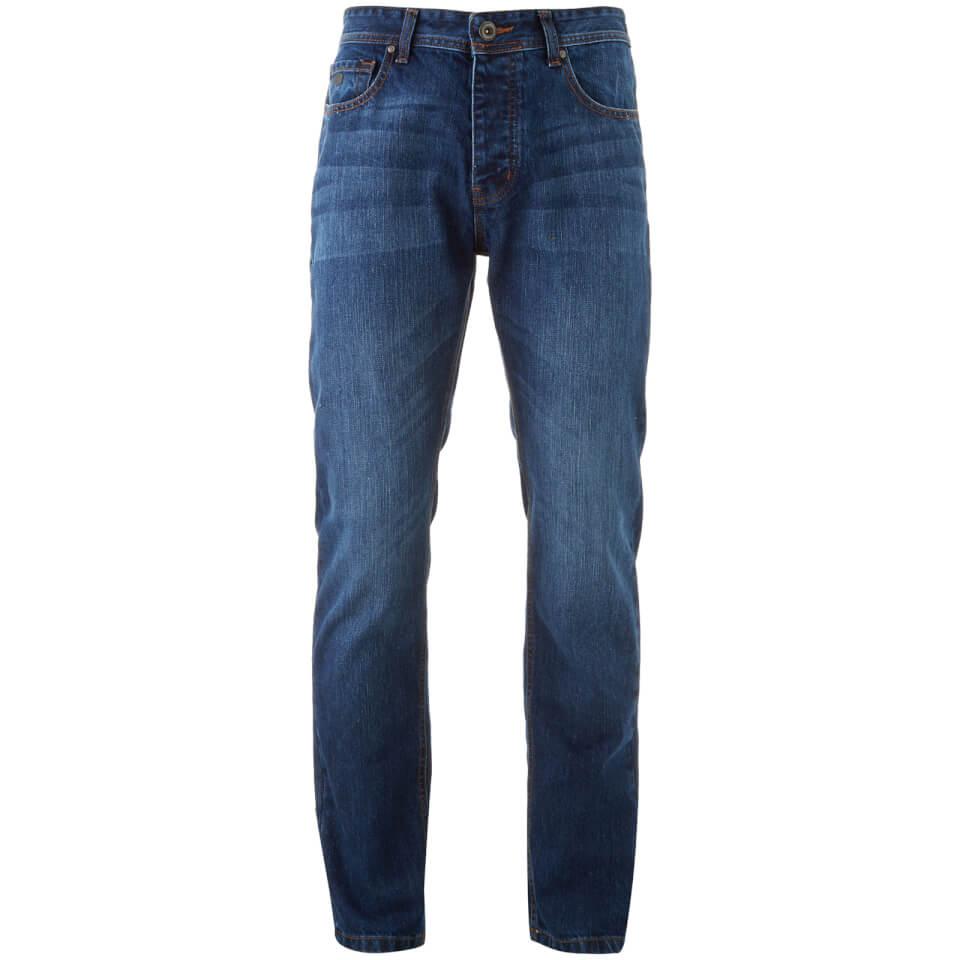 Jean slim Threadbare Travis - Hombre - Lavado medio - 34L - Azul