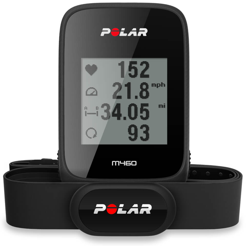 polar-m460-gps-bike-computer-with-heart-rate-monitor-black